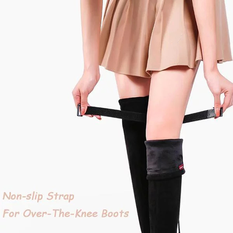 Newly Non-slip Tape Adhesive Straps Set For High Boots Anti Slip Anti Dropping Belt M99