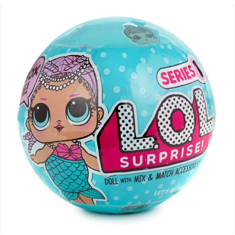 Genuine Original Surprises PoupeeDIY Kids Toy For Lol 2 Bebek Dolls Toys Toys For Children Gifts 1 Pcs Random Send