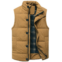 Winter Jacket Men Coat Fashion Casual Outerwear Warm Sleeveless men winter Military Vest Plus Size