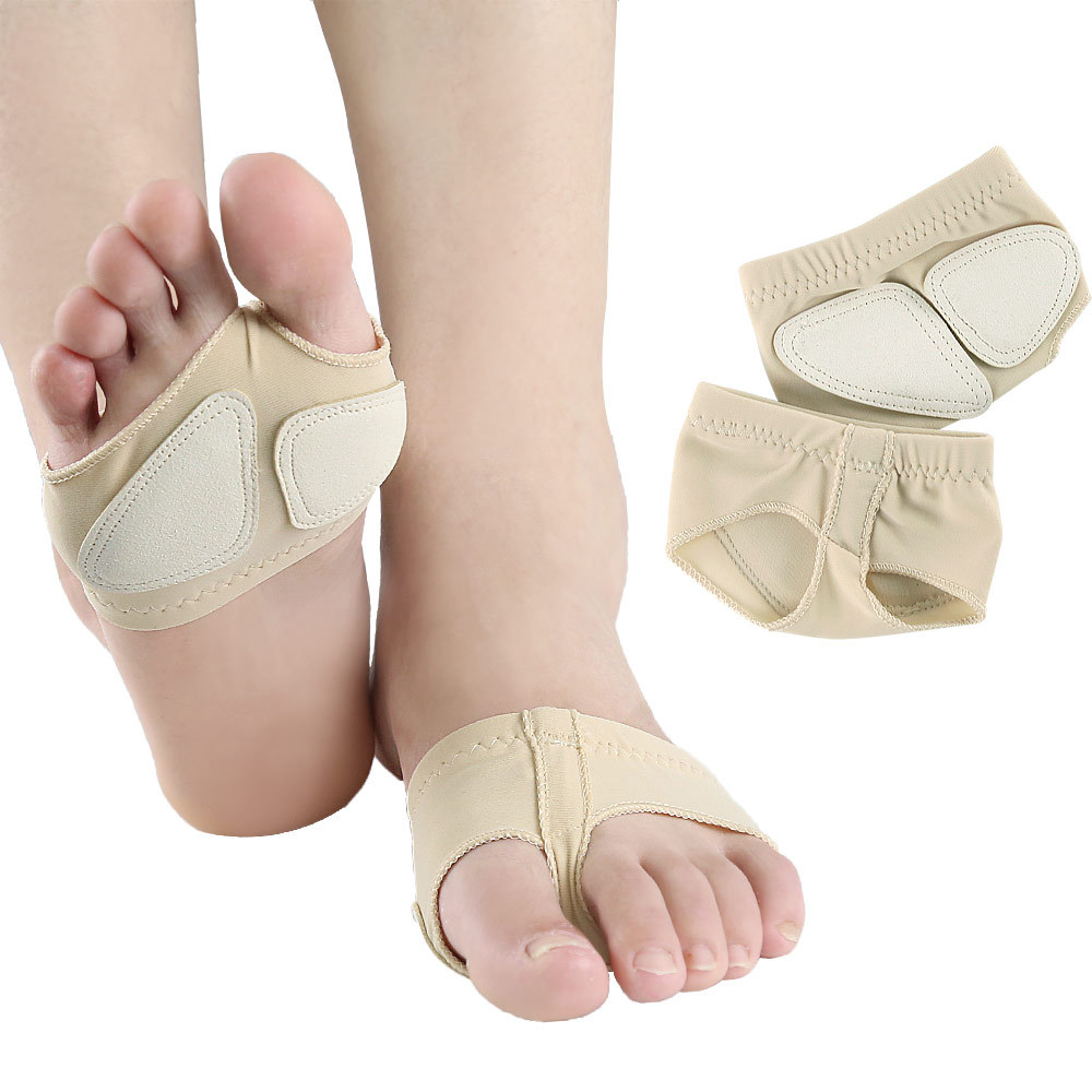 Half Sole Ballet Shoe Ballet Belly Dance Foot Thong Dance Paw Shoes