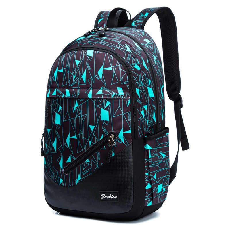 Oxford Fabricschool Ba Lô Cho Bé Trai In Hình Học Túi Cho Bé Gái Ba Lô Laptop 17 Inch Dành Cho Thanh Thiếu Niên Schoolbag