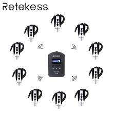 RETEKESS TT106 2.4G UHF wireless tour guide system For conference church simultaneous interpretation microphone guides