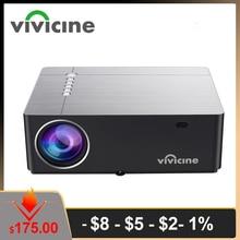 Vivicine 2020 M20 הכי חדש 1080p קולנוע ביתי מקרן, אפשרות אנדרואיד 9.0 1920x1080 מלא HD LED מולטימדיה וידאו Proyector Beamer