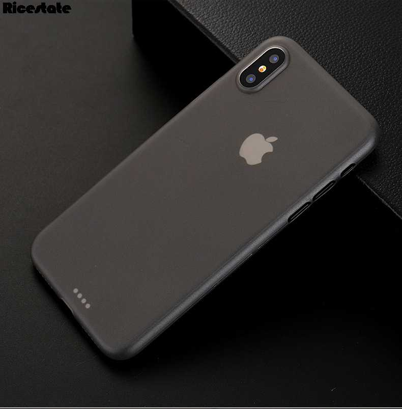 Ultra Thin PP Matte Skin Case For iphone X XR XS MAX 6 7 8 Plus Case For iphone 11 Pro Max Soft Matte Ultra-Thin back cover Case
