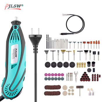 цена на 110V/220V 130W Electric Dremel Mini Grinder Drill Polishing Variable Speed Rotary Tool Electric Engraver accessories tools