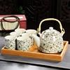 Hot Sale Yixing Ceramic Tea set Tea Set Tea Tray Outdoor Camping Mountaineering Tea Set Chinese Tea Ceremony WSHYUFEI 1