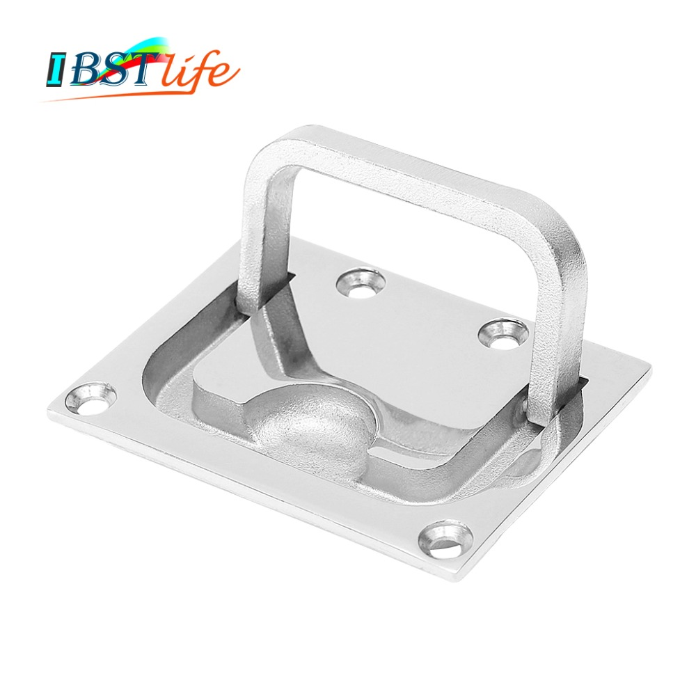 Hatch Pull Handle Boat Stainless Steel Flush Lift Ring