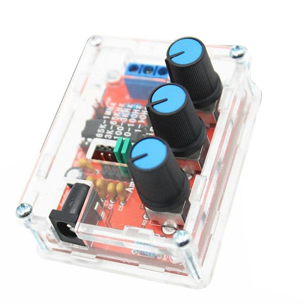 Função gerador de sinal kit seno/triângulo/saída quadrada 1hz 1mhz gerador de sinal amplitude de freqüência ajustável xr2206 Geradores de sinais    -