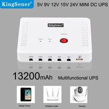 SK616 Mini Portable UPS with 5V/9V/12V/15V/24V DC Interface & USB Port Max 24W 2A Current