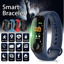 M3 Pro Smart Band Waterproof Fitness Tracker Step Counter Call Message Reminder Bracelet Watchband for Men Women Kids