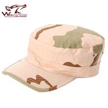 Горячая Распродажа, военная Кепка, камуфляжная кепка для страйкбола, Охотничья уличная бейсбольная кепка с плоским верхом, солдатские шапки унисекс, тактическая Кепка
