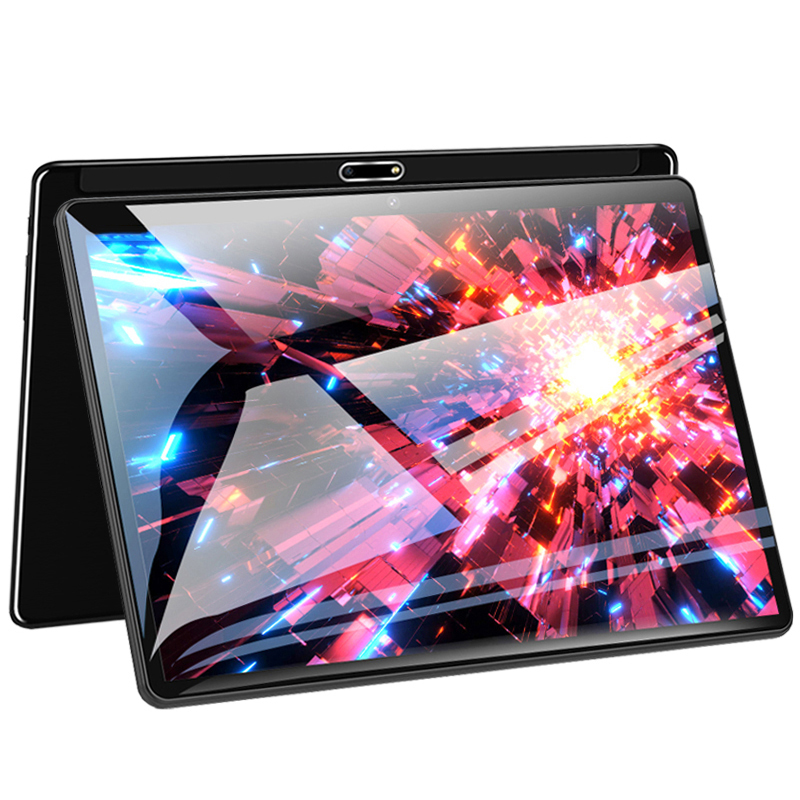 10.1 Inch Tablet Pc 2.5D Multi-touch Glass Screen Octa Core 4G FDD LTE Tablet 6GB RAM 128GB ROM Dual Cameras Android 8.0 Tablet