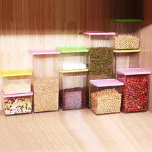 Factory Direct Stackable Grain Storage Tank Kitchen with Cap Sealed Plastic Cans Storage Box ab 1769 l32e factory sealed