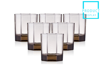 German craftsmanship color glass glass foreign wine glass spirit glass water glass purple lead-free glass