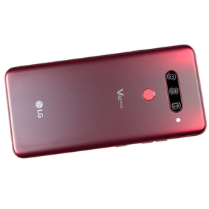 Image 2 - V405EBW Original LG V40 ThinQ 6.4 Inches 6GB RAM 64GB/128GB ROM 16MP Triple Camera LTE Single SIM Fingerprint Unlocked Cellphone