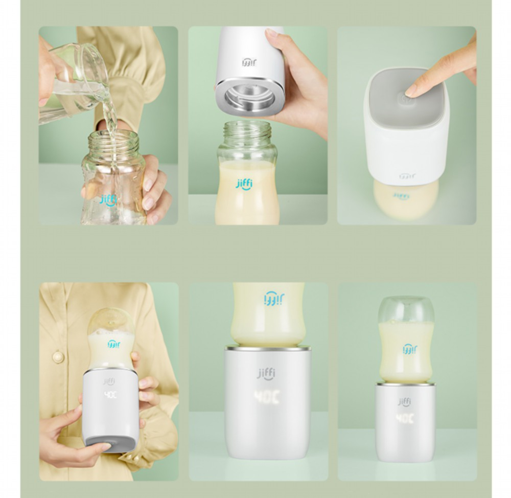 Uareliffe portátil bebê garrafa aquecedor de leite