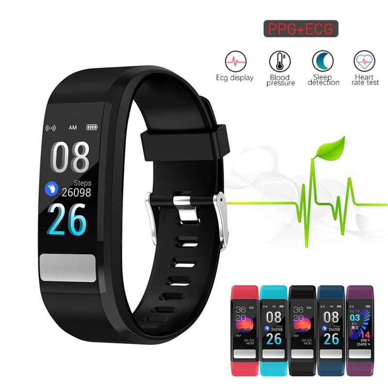 Watch-Bracelet Smart-Wristband Sleep-Monitor Blood-Pressure Heart-Rate Waterproof PPG