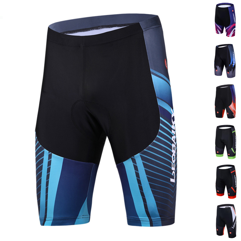 3D Gel Pads Mtb Cycling Shorts Men Shockproof Bicycle Underwear Road Bike Compression Tights Leggings Summer Ciclismo Trousers