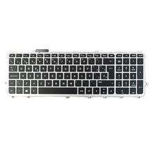 Wymienna klawiatura laptopa hiszpański układ z podświetlaną klawiaturą dla HP ENVY 15-j110la 17-j150la 15-j005ss tanie tanio MagiDeal CN (pochodzenie) Hp compaq Hiszpania Standardowy Replacement Keyboard