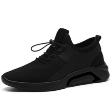 Men Casual Shoes Summer Breathable Mesh Sneakers Lace-up Tra