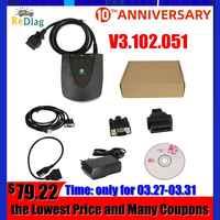 V3.102.051 Per Honda HDS Strumento LUI Strumento di Diagnostica Per Honda HDS Più Nuova Versione con Doppia Scheda USB1.1 Per RS232 OBD2 scanner