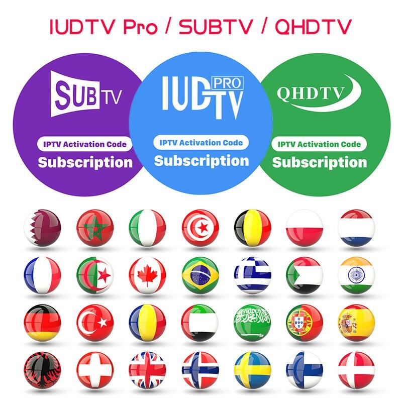 QHDTV IUDTV SUBTV Código Assinatura IPTV IPTV Suécia Alemanha Canadá França Bélgica Espanha Portugal Itália Turquia Árabe Grego IPTV