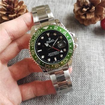 rolex- Luxury Brand quartz women Watches Quartz Watch Stainless Steel Strap wristwatch classic business dress men watch 002044 stainless steel rhinestone business quartz watch