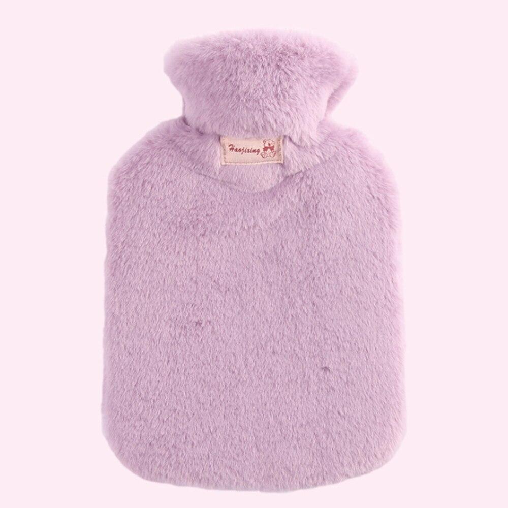 800 мл бутылка для горячей воды с плюшевой крышкой сумка Классическая