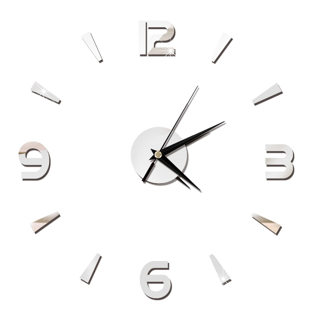 2019 New 3D Wall Clock Mirror Wall Stickers Fashion Living Room Quartz Watch DIY Home Decoration Clocks Sticker reloj de pared 22