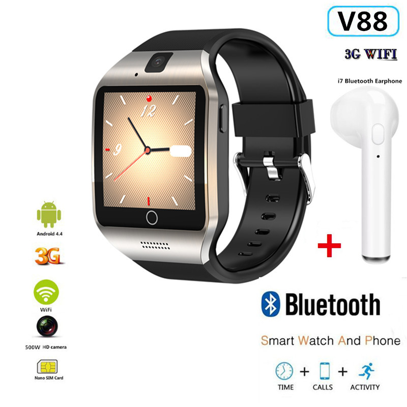 All kinds of cheap motor v88 smart watch in All B