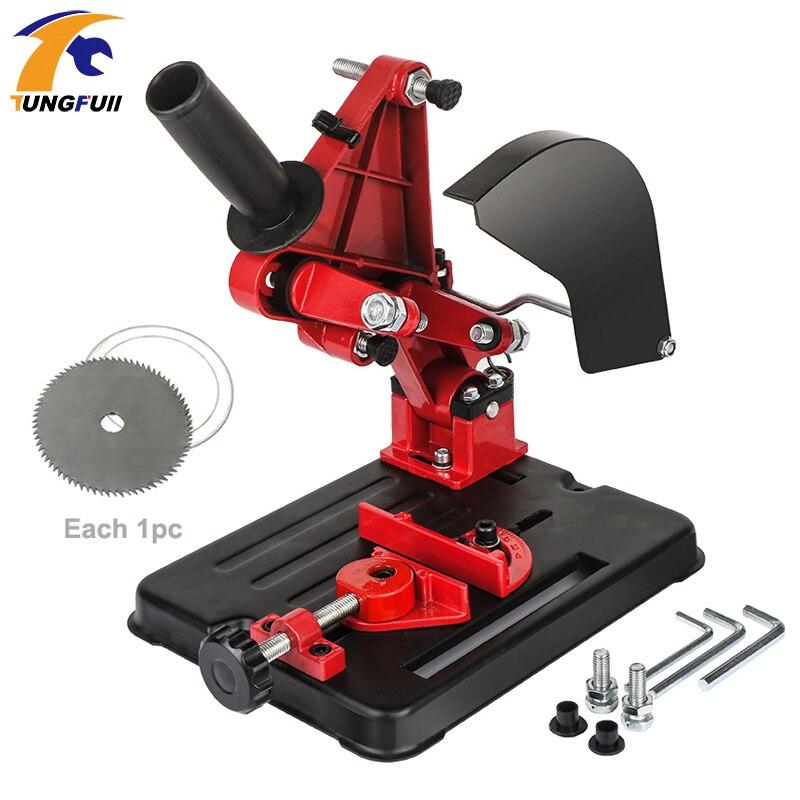 Angle Grinder Stand Angle Grinder Bracket Holder Support Woodworking DIY Cutting Stand Grinder Dremel Power Tools Accessories