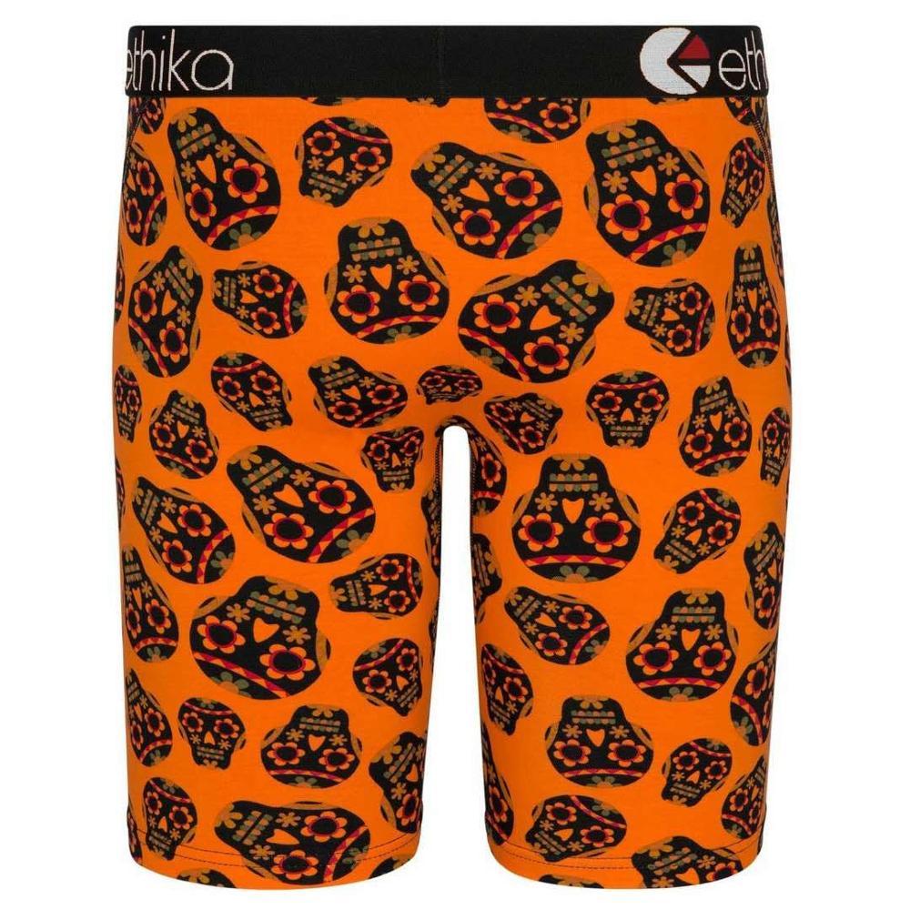 Image 3 - Ethika Mens Underwear Boxers Cartoon Print Gay Sexy Long Boxer Men Breathable tight Shorts Sport Underpants Man US Plus Size 3XLBoxers   -