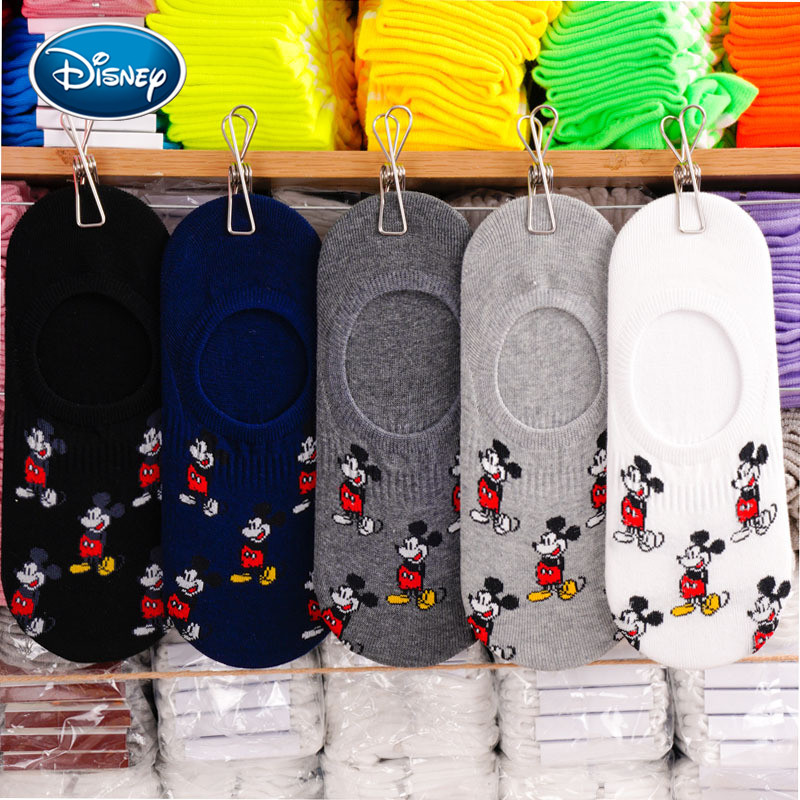 Disney Cartoon Socks Sweet Mickey Mouse Cotton Socks Men And Women Couples Socks