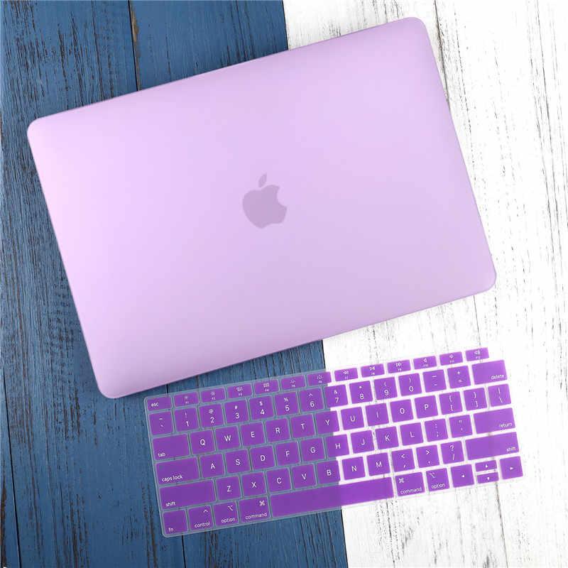 """עבור ה-macbook Air 11 12 13.3 """"קריסטל ברור כיסוי עבור Macbook Air Pro 13 15 16 מגע בר/מגע מזהה 2019 2020 A2289 A1932 A2159"""