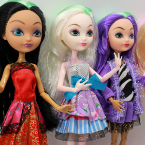 Image 3 - 4 pcs/Set Dolls Ever After Doll Fashion Monster Doll High Quality Moving joint For BJD dolls reborn baby toys gift for girl