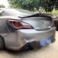 for Hyundai Genesis Coupe spoiler spoiler carbon fiber / FRP primer tail R type spoiler accessories 2009 2012 year