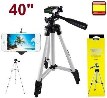 Trípode Portátil Para cámara, cámara de vídeo, Prismaticos móviles, 40 pulgadas, Soporte...