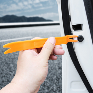Автомобильный Стайлинг, 4 комплекта, съемная Автомобильная отделка, инструмент, панель для DACIA SANDERO STEPWAY Dokker Logan, Duster|Дискодержатель|   | АлиЭкспресс
