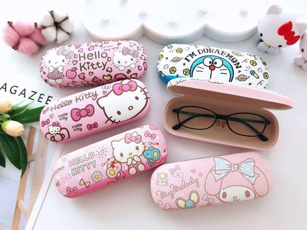 Pattern Wave Japanese Traditional Edo Glasses Case Eyeglasses Clam Shell Holder Storage Box