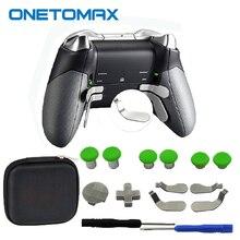 Poignées de pouce pour manette de jeu XBOX ONE Elite, pièces de réparation, bâton analogique d pad et bouton de déclenchement du pare chocs pour manette PS4 Switch Pro