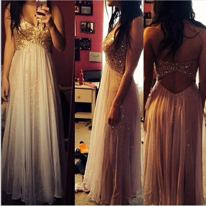 Gold Glittered Long Prom 2020 Tulle Women Summer Party Gowns Vestidos De Festa Vestido Longo Hot Sale Bridesmaid Dresses