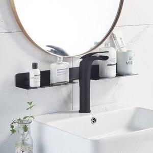3 цвета, черное пространство, алюминиевая полка для хранения, для ванной комнаты, зеркало для унитаза, для переднего предмета, настенное креп...