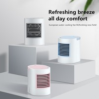 Portable Air Conditioner Cooler Fan Desktop Mini Desktop Usb Small Fan For Summer Office Home