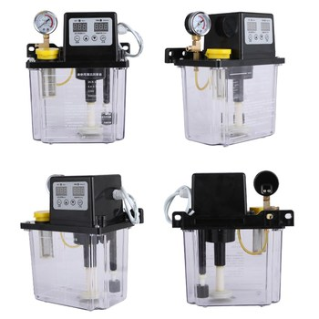 220V lubrication Pump 0.5 / 1 2L Electromagnetic Lubrication Oil Automatic Lubricant