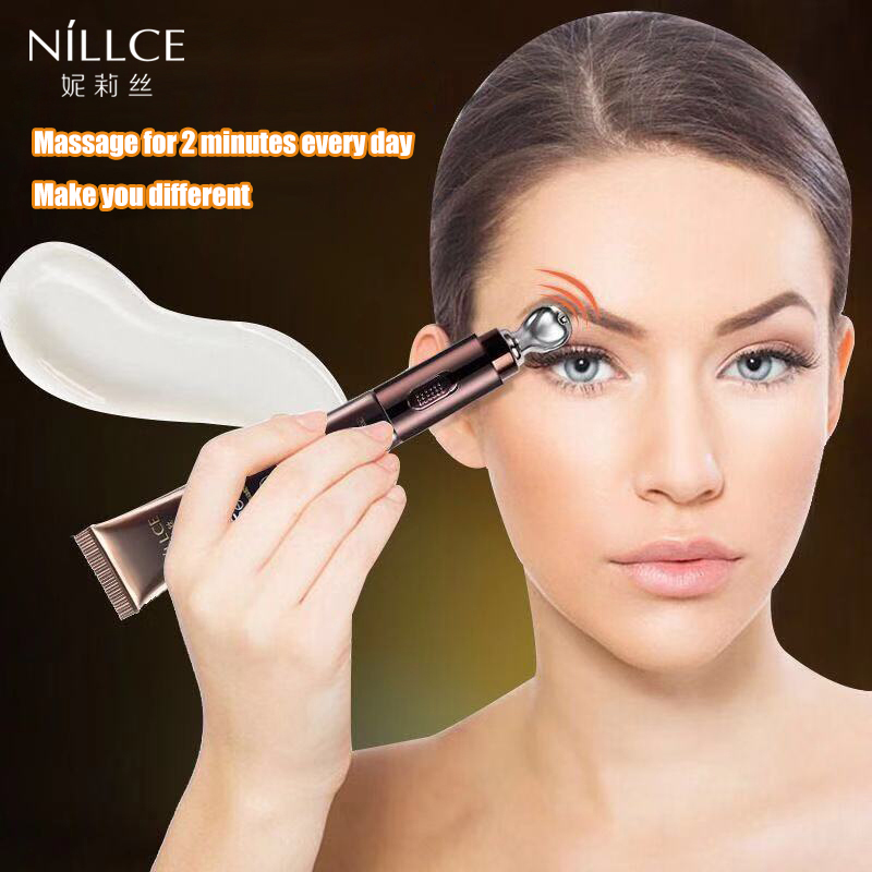 NILLCE  Electric Massage Eye Cream Anti Wrinkle Remove для  Bag Anti Puffiness Dark Circles Cream Moisturizing Eye Care 20g