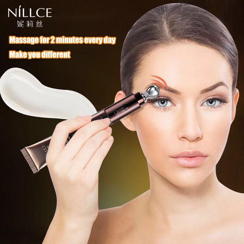 NILLCE  Electric Massage Eye Cream Anti Wrinkle Remove Bags Puffy Eyes Dark Circles Cream Eye Massager Cream 20g