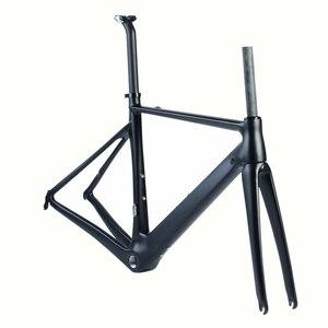 Image 5 - SENSA T800 700C BB68 Gewinde top qualität neue carbon road rahmen fahrrad racing bike frameset 56/58/60/62mm große größe Große höhe