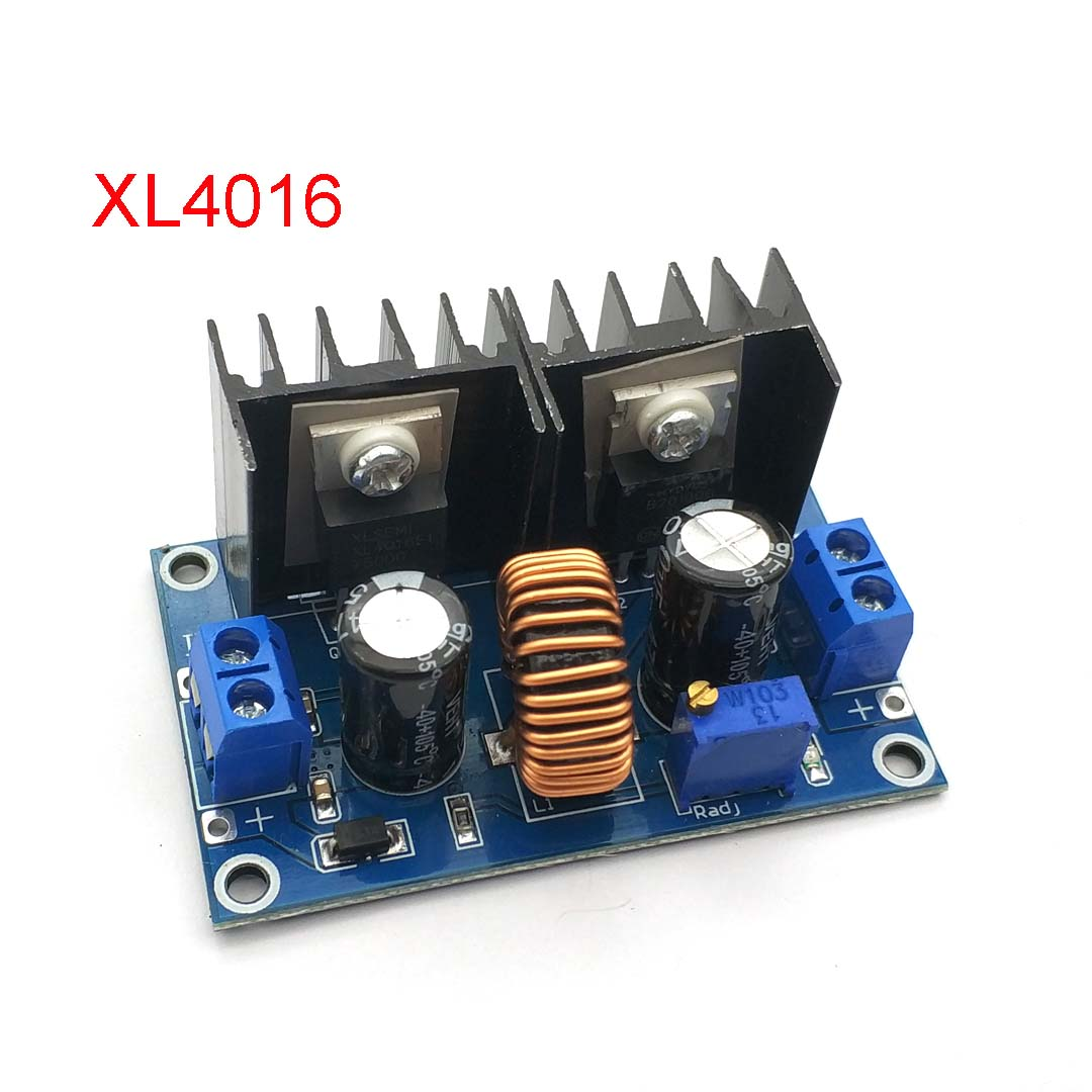 Step-down Power Supply Module DC4-40v To DC1.25-36v 8A 200w Adjustable XL4016E1 DC-DC DC Voltage Regulator Buck Module