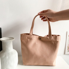 Canvas-Bag Japanese-Style Small Cute New Casual Hipster Hand-Carrying Simple