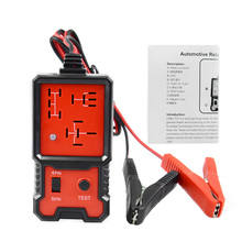 2019 Universal 12V Cars Relay Tester Relay Testing Tool Auto Battery Checker Accurate Diagnostic Too